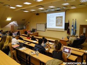 Lecture by Liudmila Obukhova